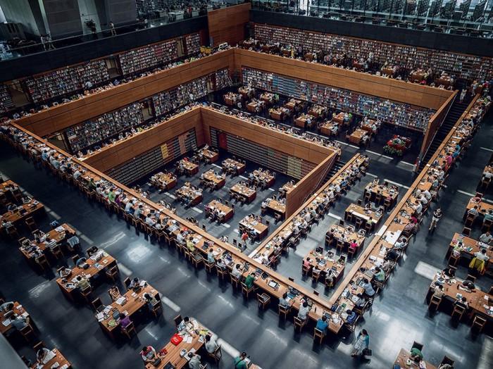 Крупнейшая библиотека Китая.