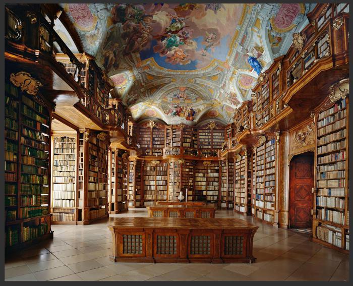 Принадлежит к самым древним и впечатляющим библиотекам Австрии.