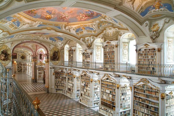 Захватывающая дух библиотека.