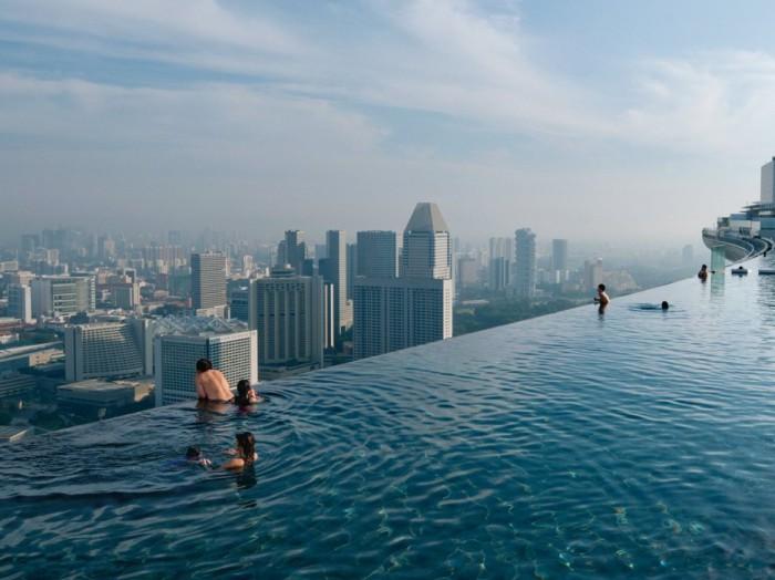 Marina Bay Sands в Сингапуре.