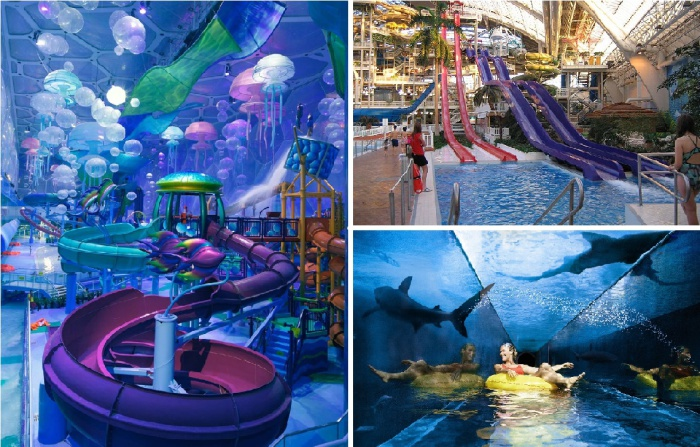 Самые масштабные аквапарки в мире.