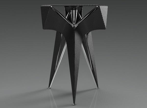 Оригинальный дизайн стула.