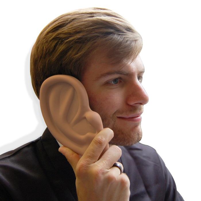 Для тех, кто хочет показать, насколько он хороший слушатель.