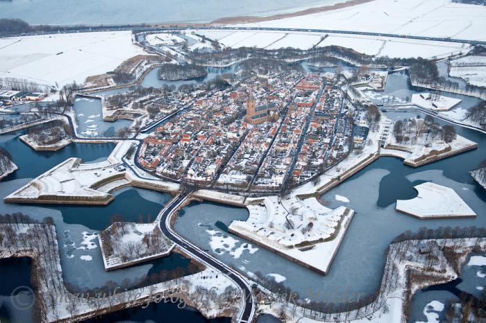 Необычный город в Нидерландах.