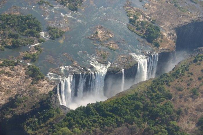 Самый необычный водопад в мире.