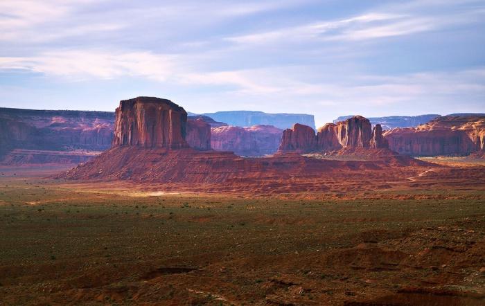 Необычное геологическое образование в США.