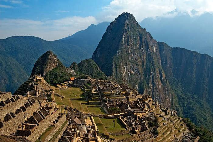 Древний город инков.