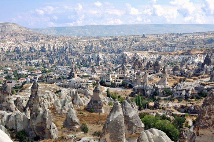 Красочный исторический регион Турции.