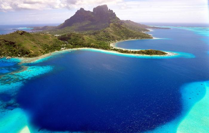 Великолепие острова Бора-Бора.