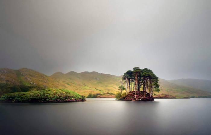 Озеро, известное во всем мире.