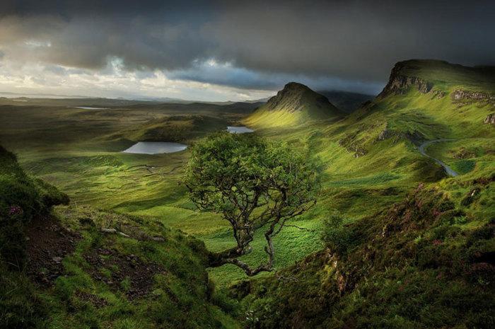 Завораживающая природа Шотландии.