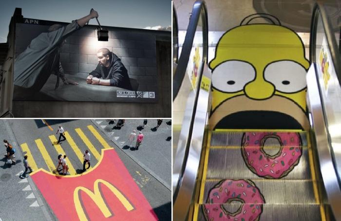 Примеры самой гениальной рекламы.