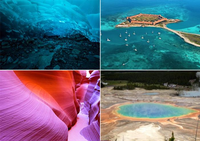 Сюрреалистические места на планете Земля.