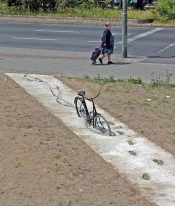 Почва под ногами всегда должна быть твердой.