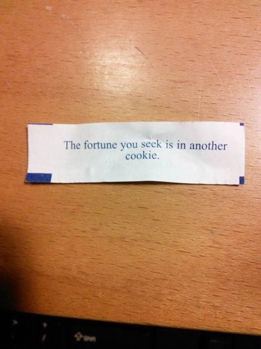В пачке такого печенья уж точно не получится найти предсказание.
