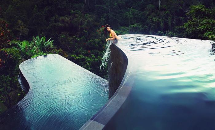 Картинки по запросу Двухуровневый бассейн на Бали
