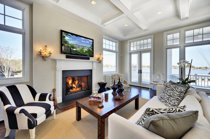 Предмет интерьера в черном цвете добавит глубины, стиля и теплоты в ваш дом.