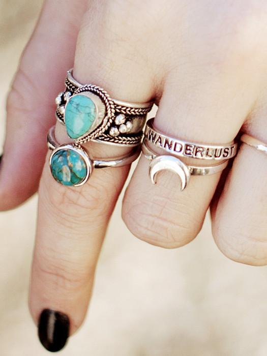 Кольцо, отображающее вашу страсть к путешествиям.
