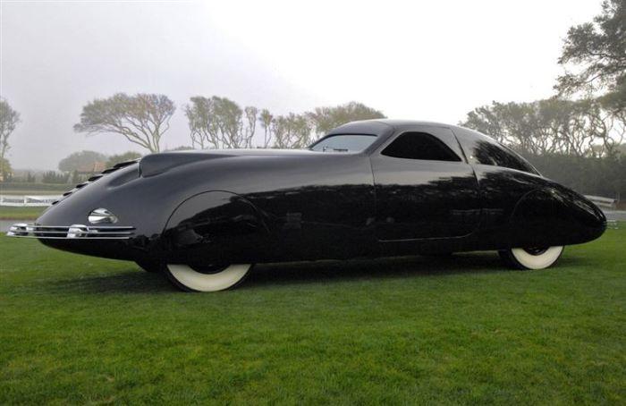 Необычный автомобиль 1938-го года.