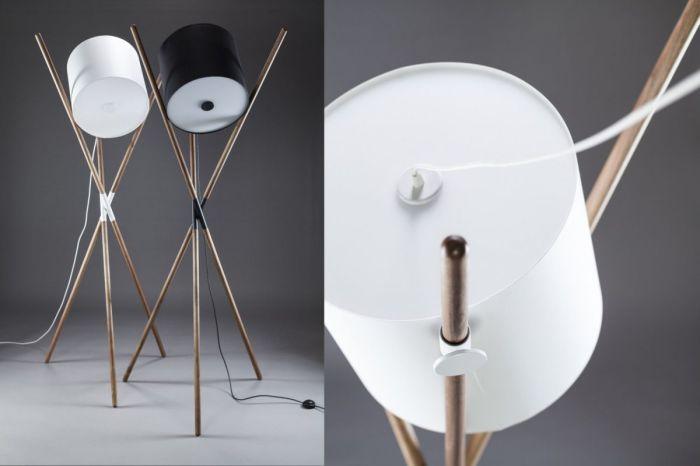 Большой светильник, способный принимать самые разнообразные формы.