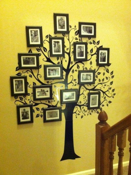 Ways-Transform-Your-Walls-11 Декор стен своими руками: 9 красивых идей, 50 фото