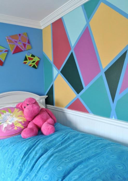 Ways-Transform-Your-Walls-8 Декор стен своими руками: 9 красивых идей, 50 фото