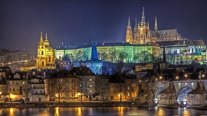 Один из самых известных замков в Чехии