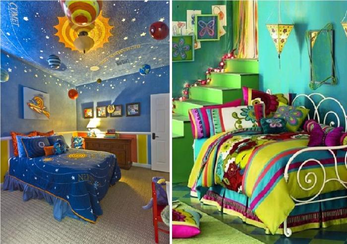 Великолепные идеи дизайна детских комнат.