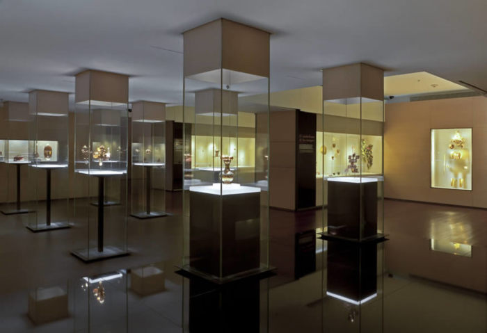 Музей, в котором можно посмотреть на старинные золотые украшения.