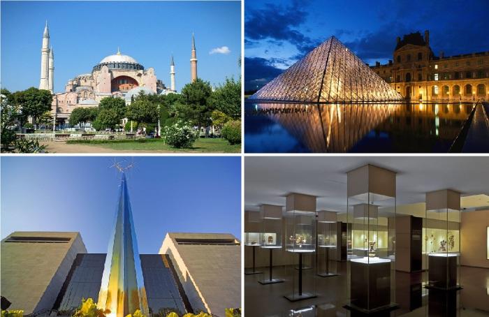 Величайшие музеи мира, которые обязательно нужно посетить.