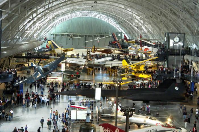 В музее собраны прототипы различных летательных аппаратов за всю историю человечества.