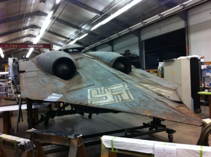 Оригинал немецкого самолета.