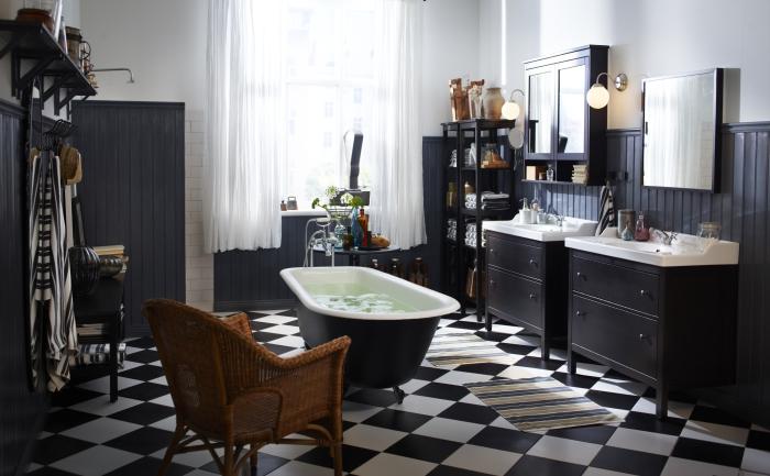 Оригинальные способы кладки плитки в ванной.