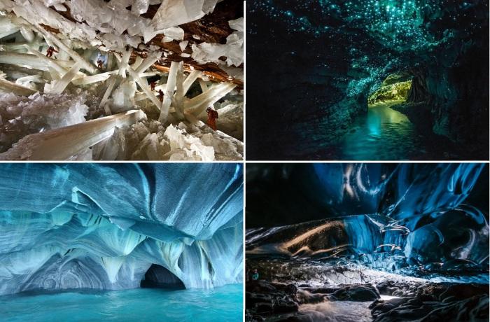 15 захватывающих дух пещер.