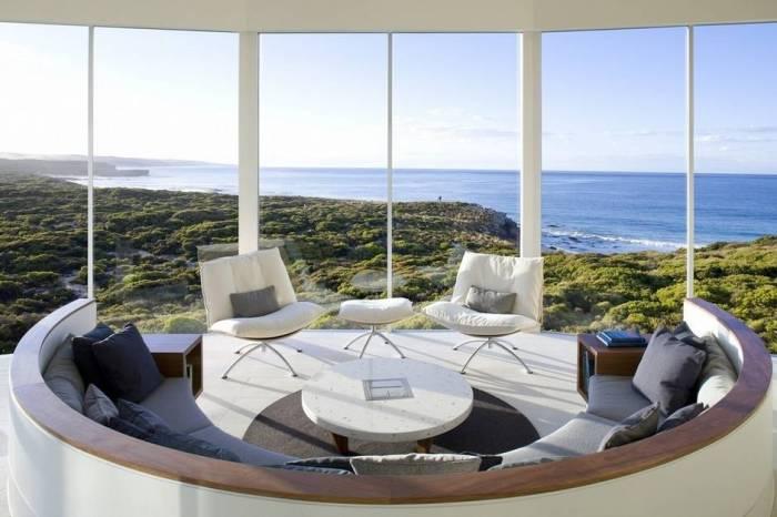 Дом с великолепным видом на океан.