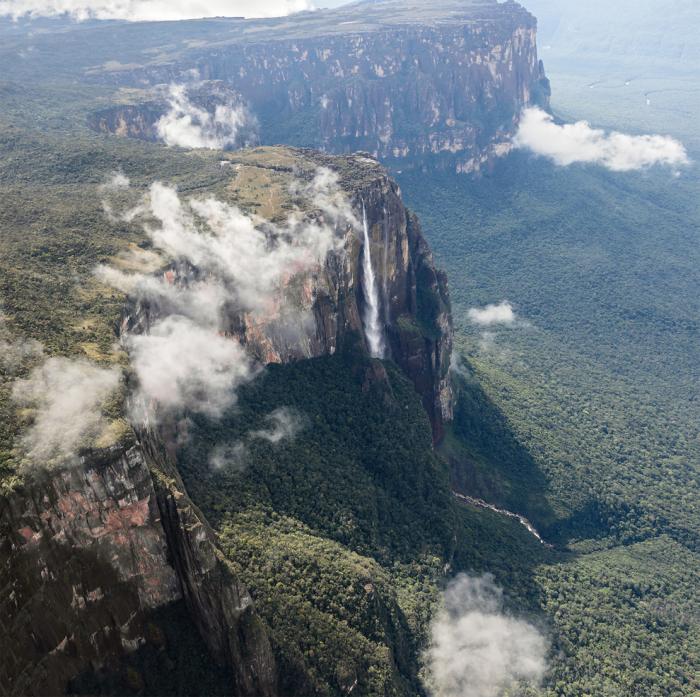 Самый высокий водопад в мире.