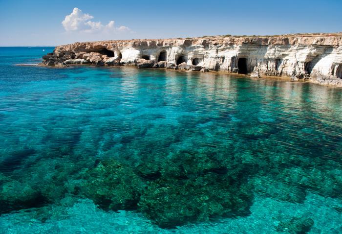 Греческий мыс на Кипре.