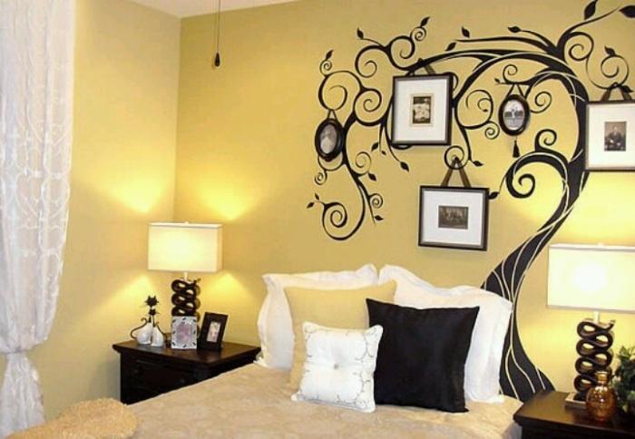 Образцы декора стен