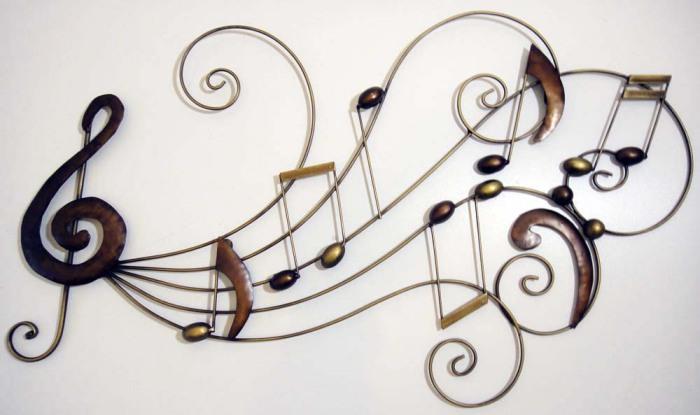 Идеальное украшение для каждого, кто не мыслит свою жизнь без музыки.