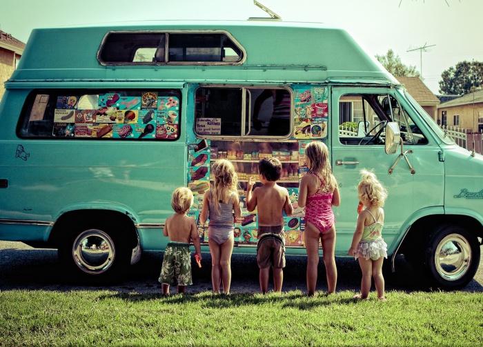 Фургончик с мороженным на фотографии Brian Callaway.