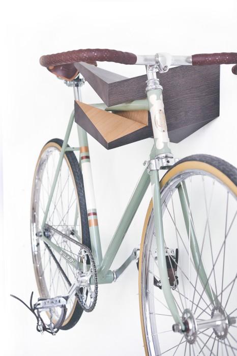 Вешалка для велосипеда как предмет искусства.