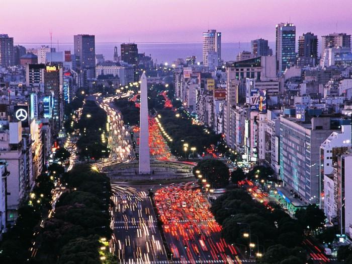 Замечательная столица Аргентины.
