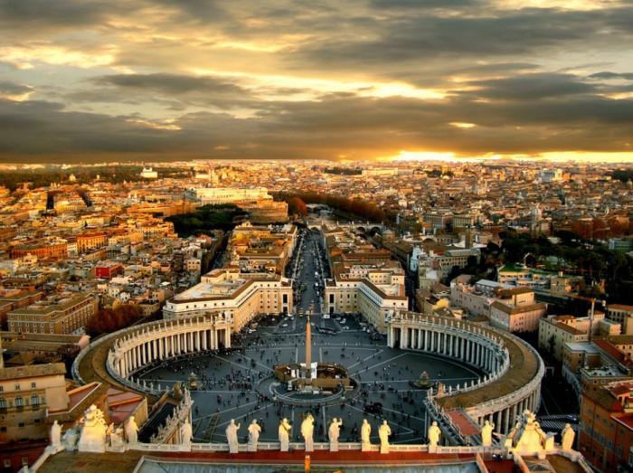Столица Италии.
