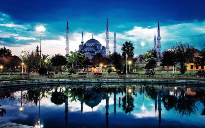 Экзотический город Стамбул.