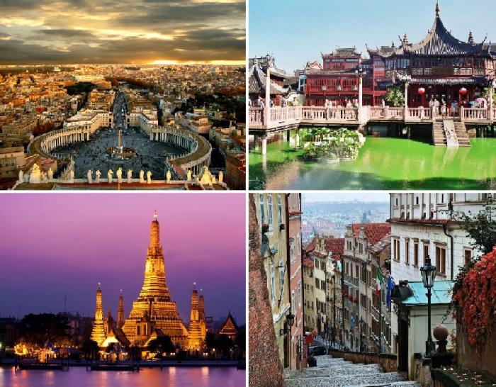 Топ-25 городов, которые нужно увидеть своими глазами.