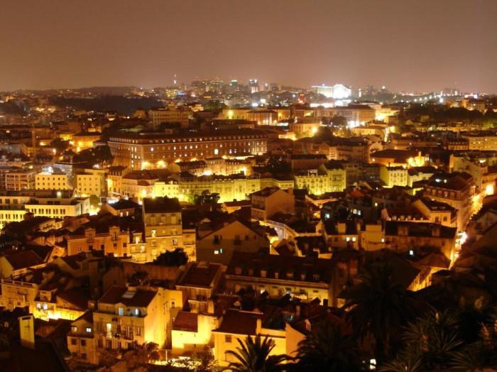 Столица Португалии.