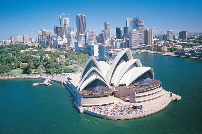 Знаменитая опера в Сиднее.