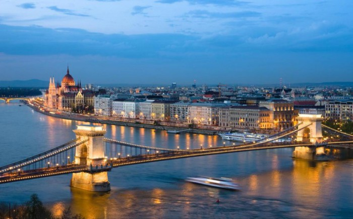 Красоты Будапешта.