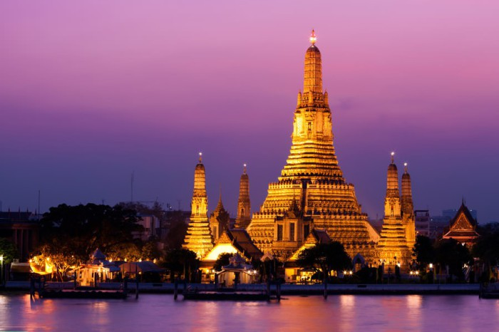 Красочная столица Таиланда.