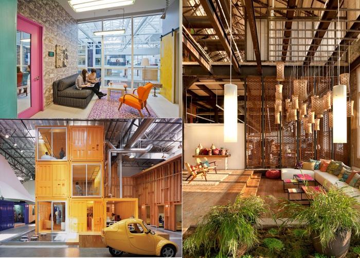 7 самых интересных офисных помещений